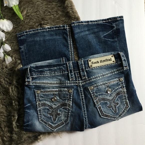 Rock Revival Denim - Rock Revival Raylea Boot Jeans size 27